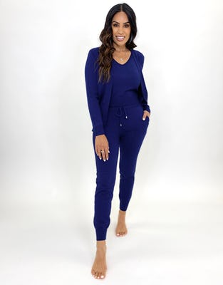 Three Piece Indigo Lounge Set