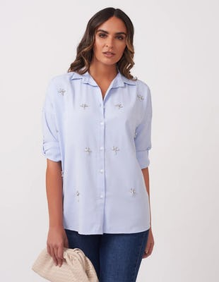 Blue Dragonfly Shirt