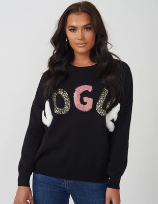 Black Vogue Jumper