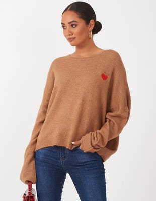 Camel Heart Jumper