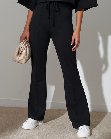 Black Tailored Jogging Bottoms