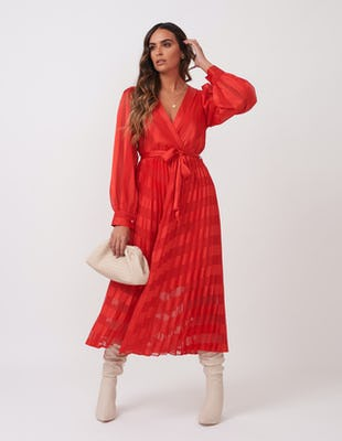 RED UNIQUE AW2020 DRESS MIDI