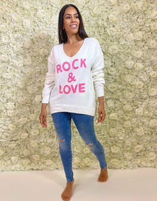 White Rock & Love Jumper