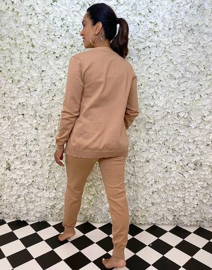 Three Piece Taupe Lounge Set