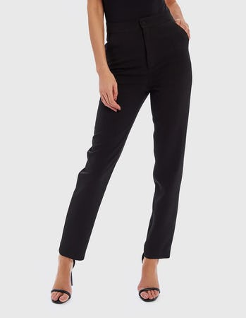 RUE - Black Cigarette Trousers